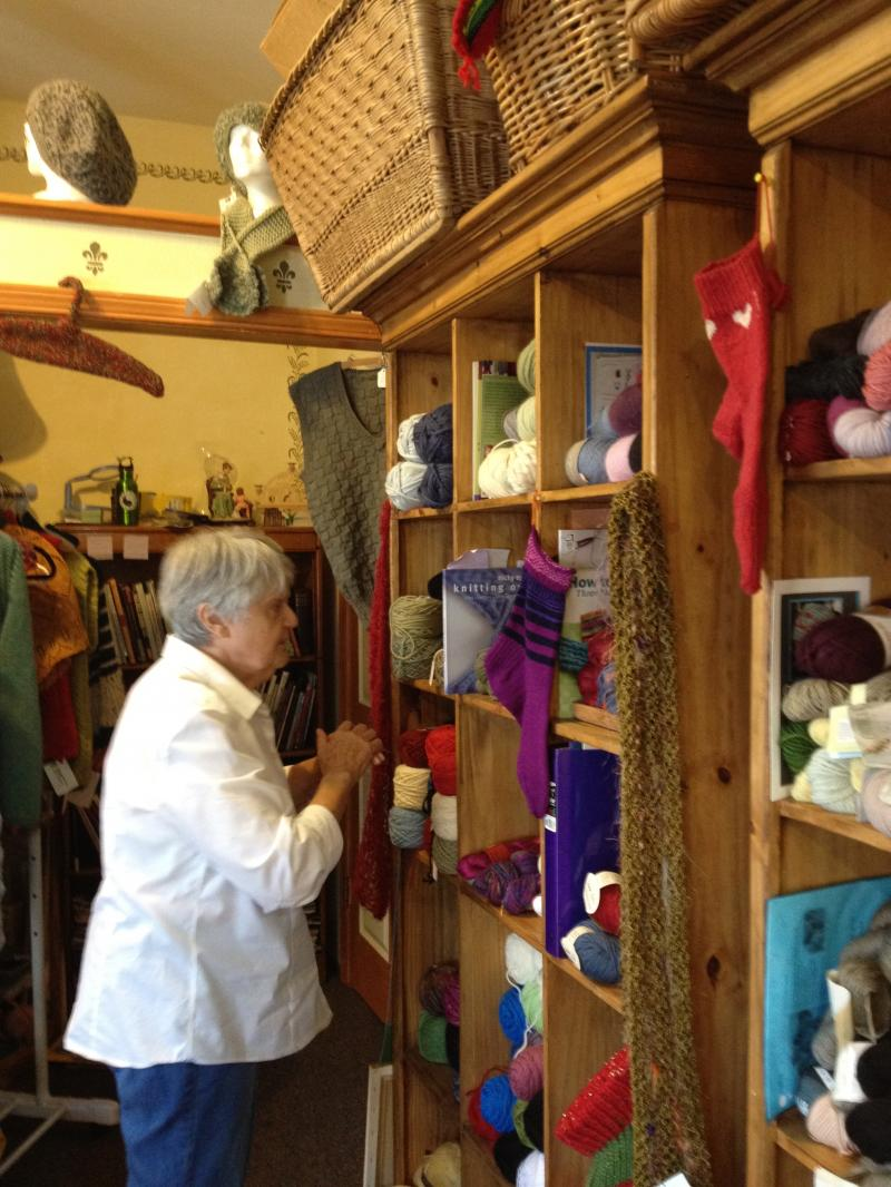 Yarn and Needles,  International Knitting Studio  Sonoma