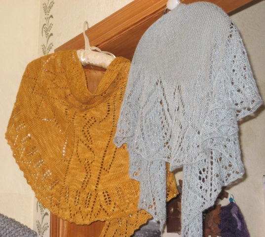 the Yarn Retriever Lace Shawls
