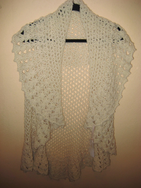 lace vest  International Knitting Studio